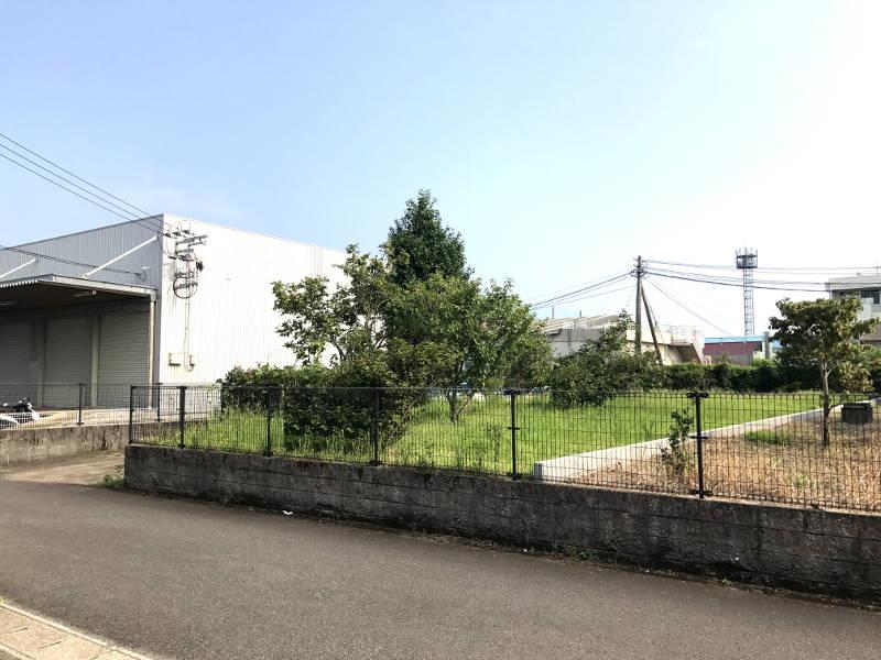 日ノ出町の新築用地、2区画販売の1号地です。
