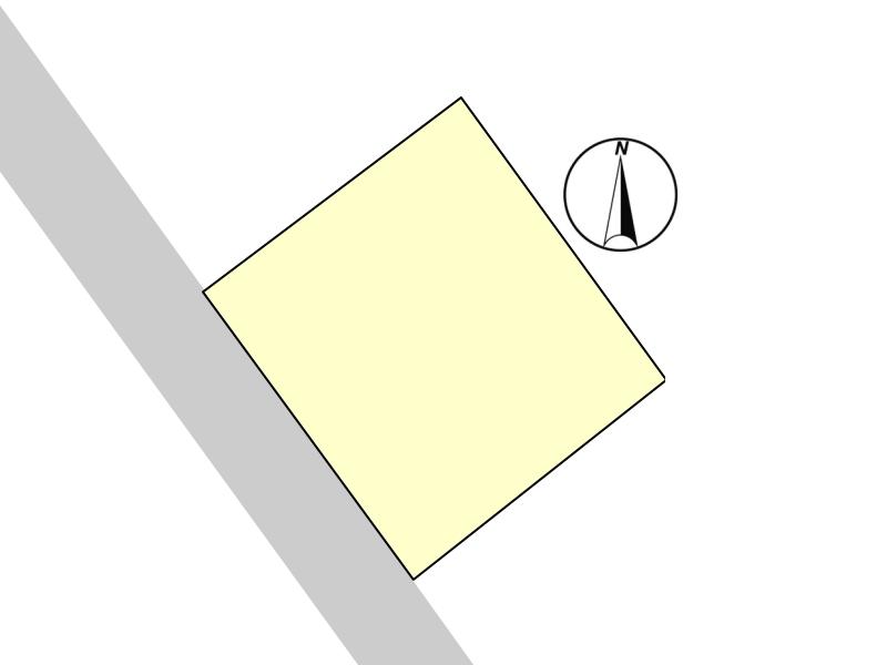 土地の形が整っているため、住宅設計がしやすく、一戸建てを建てるのに最適な整形地です。