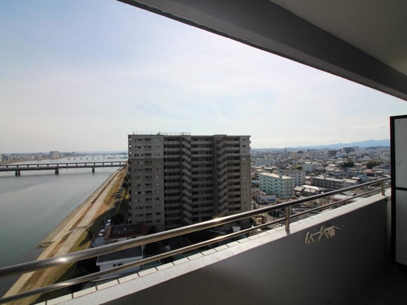 太田一丁目/マンション/グランドパレス大淀/バルコニーからの眺望も良好です
