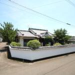 阿波岐原町:北西角地、和風造りの平屋住宅