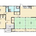 豊富な収納スペース、全居室明るい室内です。