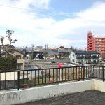 ボックスカルバート(堀車庫)はルーフバルコニーになっており、日当たりと眺望が良好。