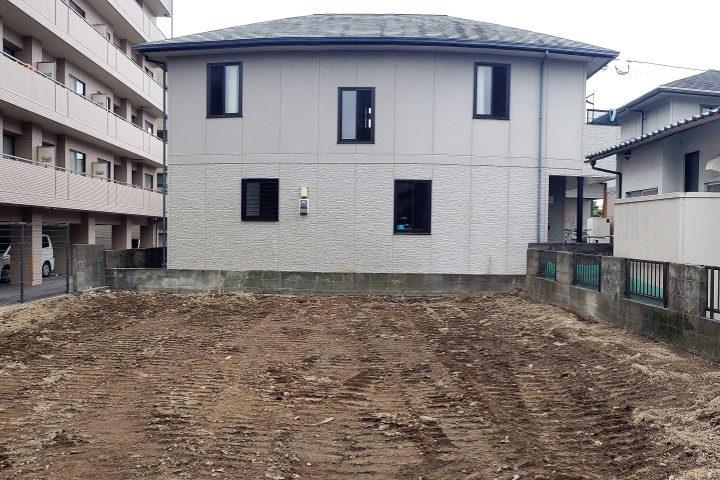 整形地部分の約48坪の敷地を有効に使うことができます。