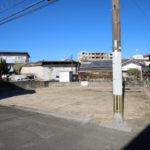 吉村町、フェニックスガーデン近くにある角地の新築用地