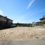 下北方町にある144坪の広々敷地、日当たりの良い新築用地です。