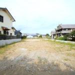 村角町:敷地116坪、南道路の既存宅地。上下水道完備。