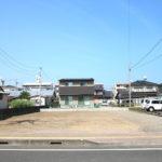 出来島町:建物解体済み、南道路の新築用地