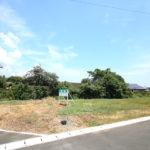 綾町のスポーツ施設「綾てるはドーム」近くの新築用地(A号地)です。