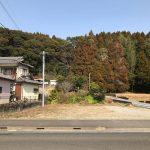 宮崎須木線沿い、国富町岩知野と宮崎市大瀬町との境にある住宅用地です。