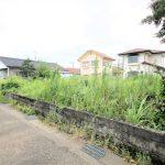 国富町の木脇小学校、木脇中学校近くの新築用地