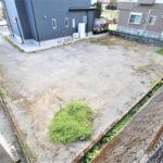 学園木花台桜、プライベート空間を確保した新築用地