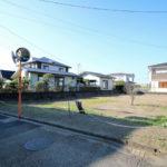 赤江(飛江田)、南道路の新築用地
