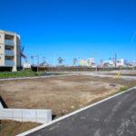 恒久分譲地:南北に広い新築用地。上下水道完備(13号地)
