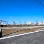 恒久分譲地:南北に広い新築用地。上下水道完備(15号地)