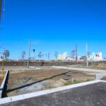 恒久分譲地:プライベート空間を確保した旗竿の新築用地(17号地)