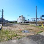 恒久分譲地:北西角地の新築用地。上下水道完備(18号地)