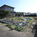 大塚町、プライベート空間を確保した新築用地