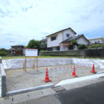 大塚町:大塚東通り沿いの新築用地(1号地)