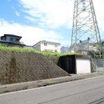 小松台団地、高台の新築用地