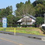 宮崎須木線沿い。