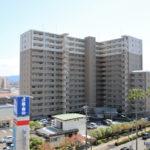 南駅通り沿いにあるペット可マンション『ポレスターブロードシティ南宮崎』です。